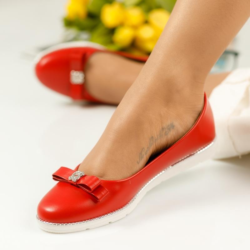 Pantofi Casual Dama Leticia Rosii #1136M