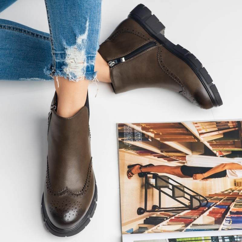 Pantofi Casual Vienna Verzi #3683M