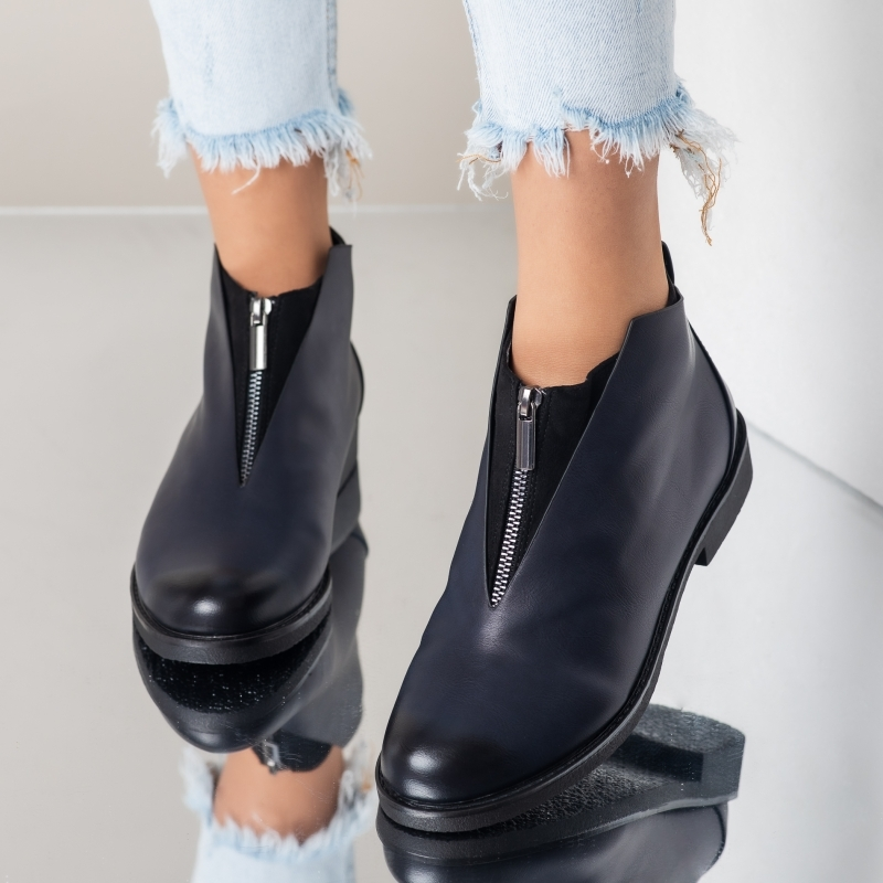 Pantofi Casual Paolo Bleumarin #3685M